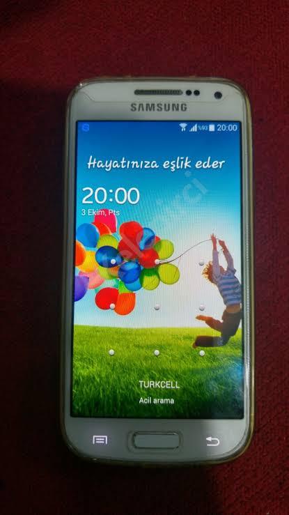 Samsung S4 Mini 2. ikinci el fiyatları satılık sahibinden