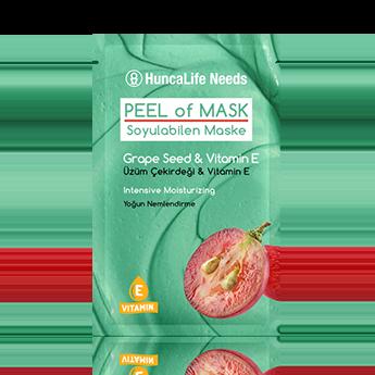 Huncalife Needs Soyulabilen Maske Üzüm Çekirdeği Vitamin E 10 ml fiyatı sipariş ver