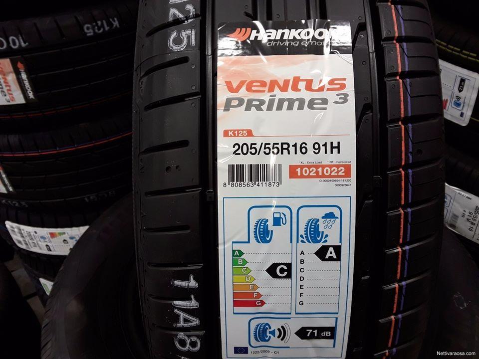 VENTUS PRIME 3 K125 HANKOOK DOT 2020 fiyatı satılık lastik