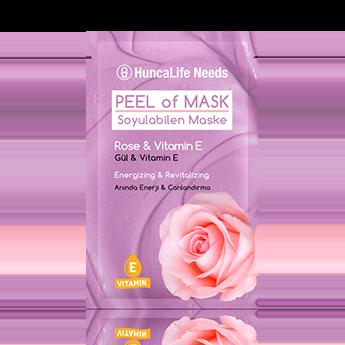 Huncalife Needs Soyulabilen Maske Gül Vitamin E 10 ml fiyatı sipariş ver