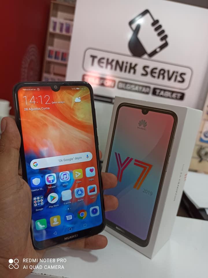 Huawei Y7  2. ikinci el fiyatı cep telefonu satılık