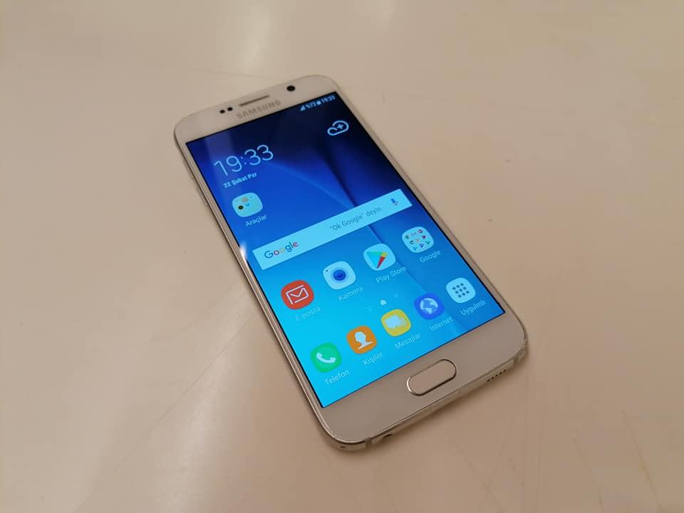 SAMSUNG S6 32 GB 2. el cep telefonu fiyatı satılık Tokat