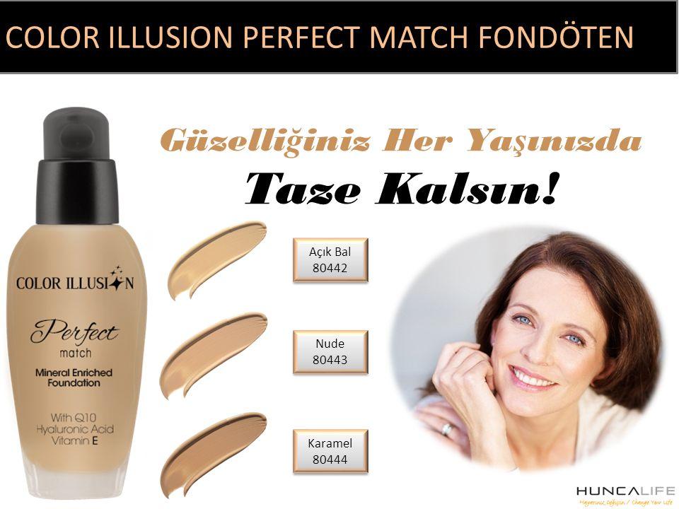 C. I. Perfect Match Fondöten Nude 35 ml fiyatı sipariş ver