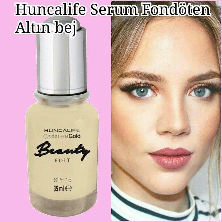 C.G. Beauty Serum Fondöten Altın Bej 35 ml fiyatı sipariş ver