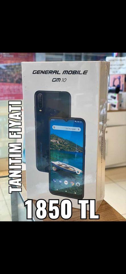 GENERAL MOBİLE GM 10 2. ikinci el fiyatı cep telefonu satılık
