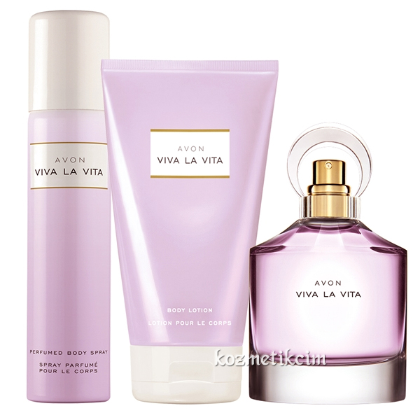 Viva La Vita Kadın Parfüm Seti fiyatı Avon