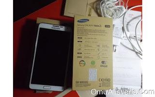Samsung NOTE 3 cep telefonu uygun fiyata sahibinden SATILIK