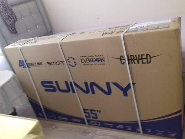 Sunny 140 Ekran 4K Smart Tv Televizyon 2. ikinci el fiyatı satılık