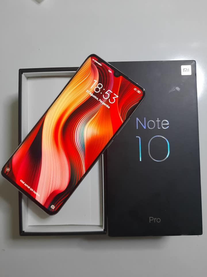 Xiaomi NOTE 10 PRO 2. ikinci el fiyatı cep telefonu satılık