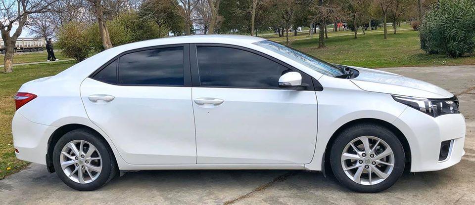 2015 model Toyota Corolla samsun 2. ikinci el satılık