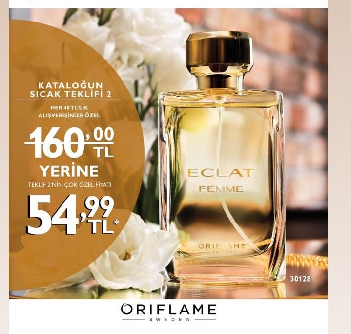 Oriflame Eclat Femme kadın parfümü sipariş ver